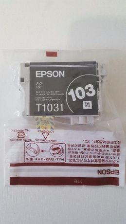 Новый Epson T1031 (C13T10314A10) черный картридж