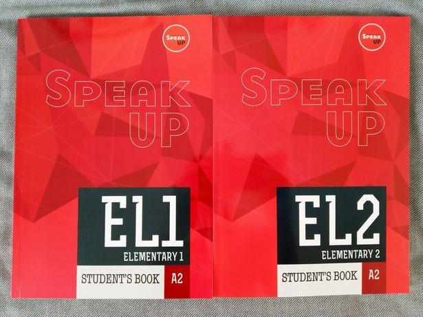 Książki do języka angielskiego Speak Up Elementary 1 i 2 poziom A2