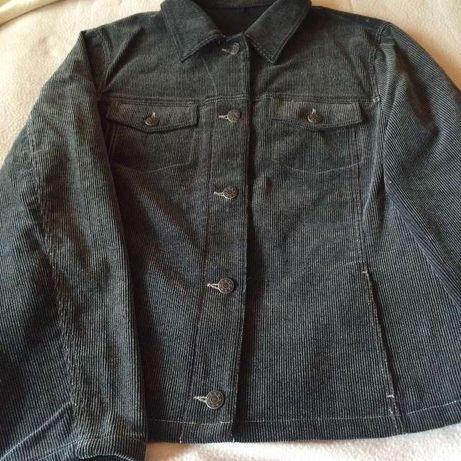 Куртка піджак вільвет сіра 50