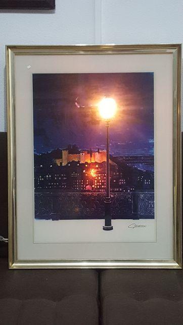 Quadro iluminado castelo S. Jorge