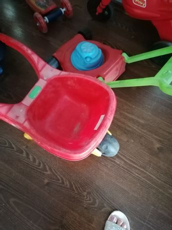 Taczka i kosiarka Zabawki ogrodowe