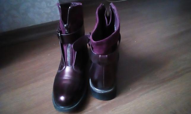 Ботильоны, ботинки женские. Стиль Balmain.