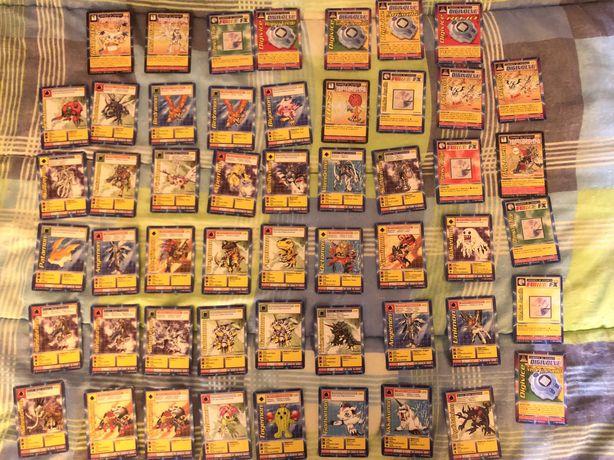 52 Cartas Digimon - 1999