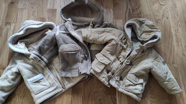 Куртка пуховик детский вельвет флис на 1- 1,5 года