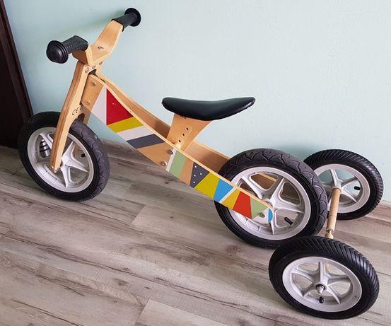 Rowerek biegowy drewniany 2 w 1 Sunbaby
