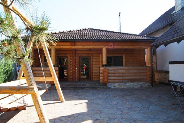 Сдаю деревянный дом с баней на Дунае