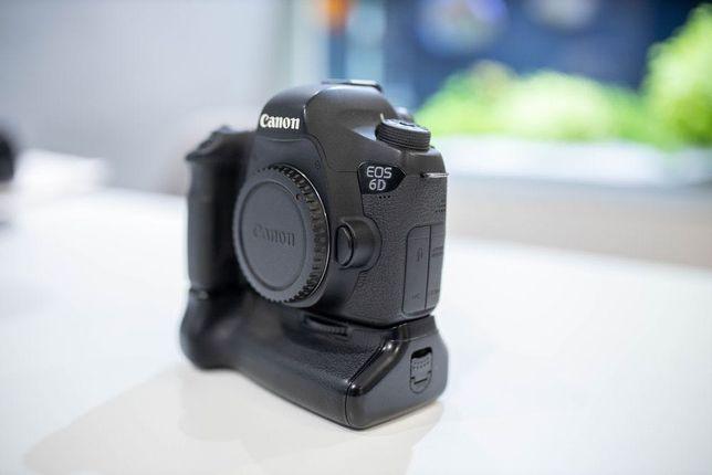 Lustrzanka Canon 6d + grip