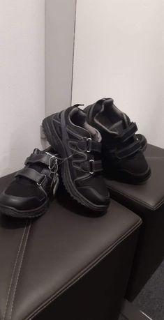 Buty męskie młodzieżowe sportowe trapery jesień zima rzepy 41-46 nowe