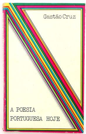 a poesia portuguesa hoje Gastão Cruz, Plátano Editora, 1973, 12*18,5cm