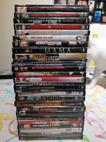 BAIXA DE PREÇO. 60 dvd (filmes), terror, comédia, acção, romance, etc