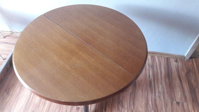 Stół rozkładany okrągły