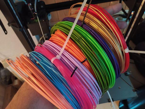 Супер лот !!! 10 цветов PLA ПЛА пластик для 3д ручки