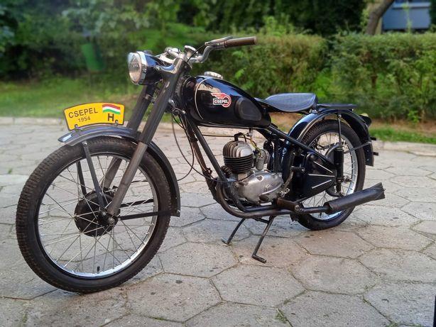 Motocykl  Csepel  125 panonia shl dkw