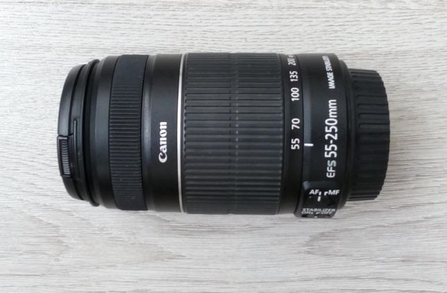 Объектив Canon EF-S 55-250mm f/4-5.6 IS 11