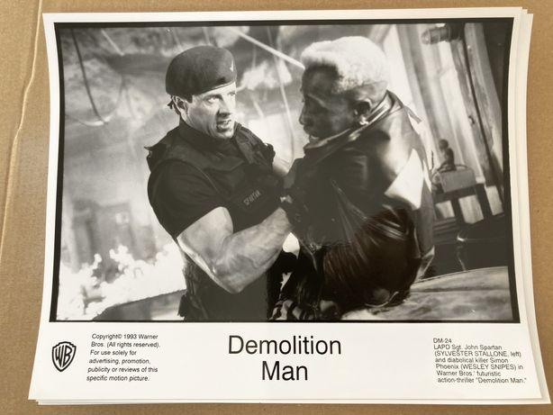 Stallone - Człowiek Demolka - 2x zdjęcia/kadry filmowe
