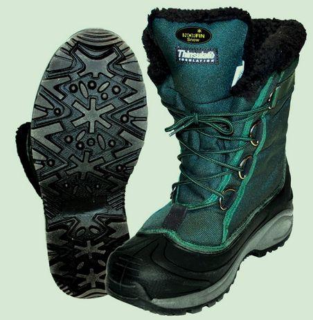 Зимние ботинки для рыбалки Norfin Snow/ Есть все размеры