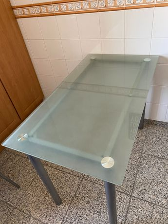 Mesa cozinha vidro