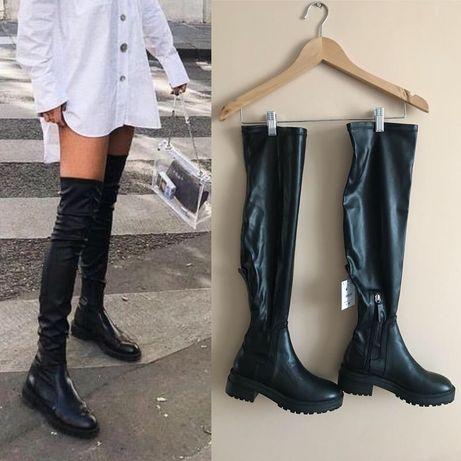 Ботфорты Женские ботинки Bershka Zara ASOS mango
