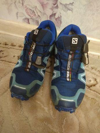 Salomon детские трекинговые кроссовки 36 размер