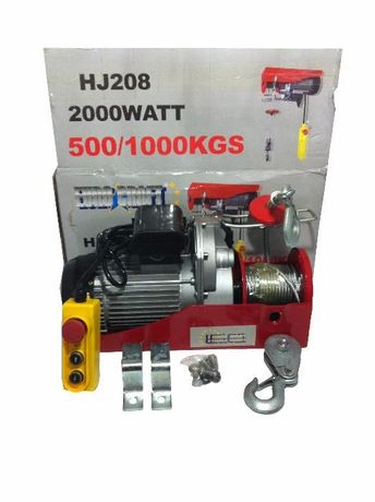 Тельфер електричний EURO CRAFT 500/1000 кг.