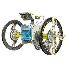 Робот-конструктор 14в1 на солнечных батареях. Solar Robot 14в1