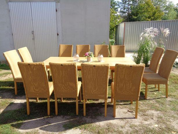 12 krzeseł rattanowych - meble holenderskie U Tomka, Mielnica
