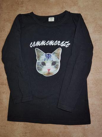 Комплект юбка и кофта с котиками  на девочку