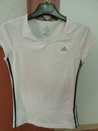 Bluzka biała Adidas