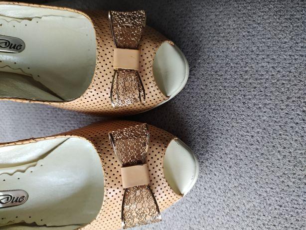 Buty szpilki nude roz 38 uzywane