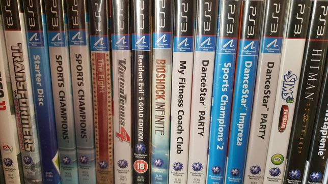 Move Super gry PS3 PlayStation 3 Stan idealny