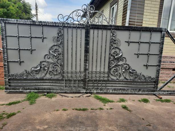 Ворота, калитки, навесы, оградки, и.т.д