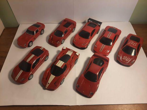 Zestaw 8 Samochodzików Kolekcjonerskich Ferrari | MEGA OKAZJA