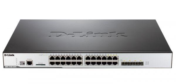 Коммутатор D-link DWS-3160-24pc 24 порта