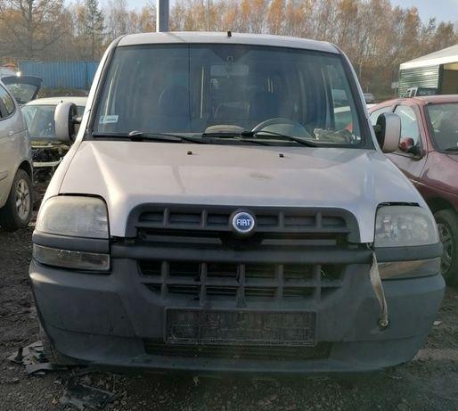 Fiat Doblo, 1,9 błotnik, części FV transport/dostawa