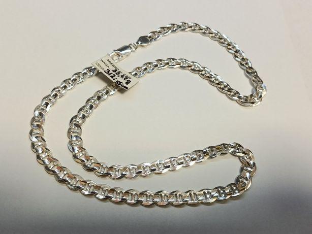 Srebrny łańcuszek, nowe srebro pr.925 Lombard Krosno Lewakowskiego