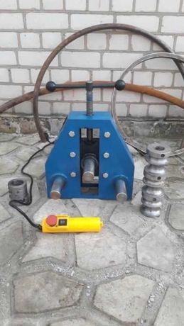 Трубогиб с выносными валами станок профильной трубы кольцо шины улитка