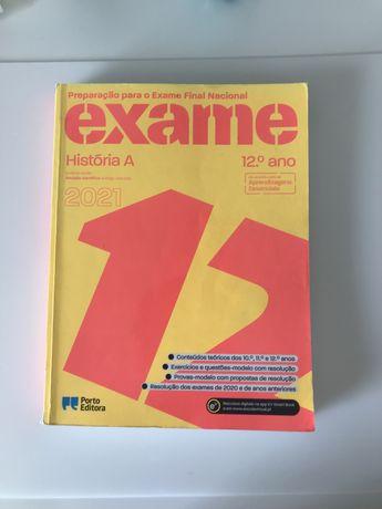 Livro preparação exame nacional História A 2021