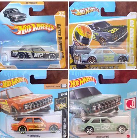 71 Datsun 510 hot wheels