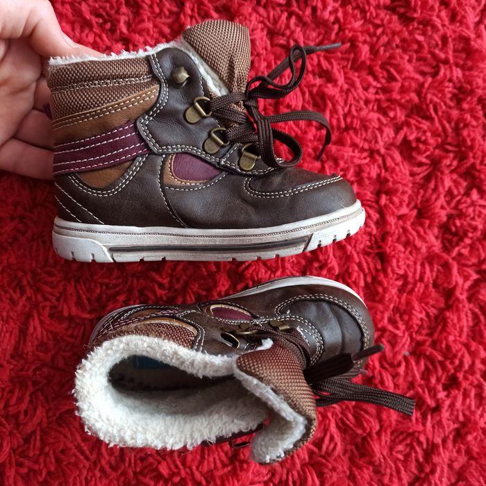 Kozaczki chłopięce, buty zimowe 23 Żory - image 1