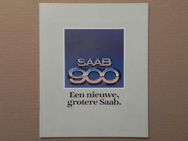 Prospekt - SAAB 900 . 1978 r