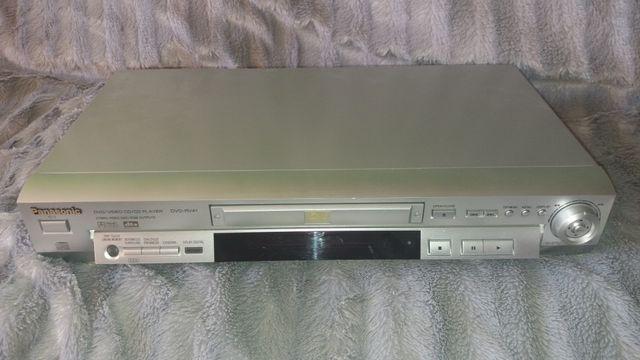 Odtwarzacz dvd marki Panasonic, model DVD-RV41, dla pasjonata konesera