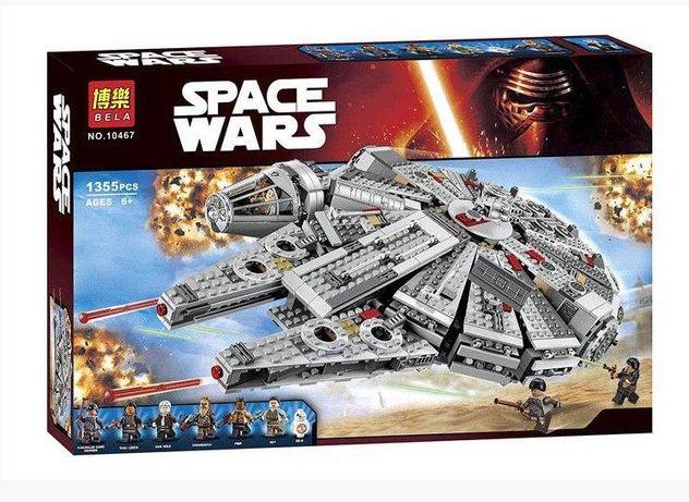 Конструктор Bela Star Wars Сокол Тысячелетия 10467 Аналог LEGO