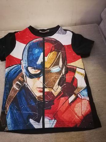 Футболка Марвел супергерои мстители капитан Америка ironman