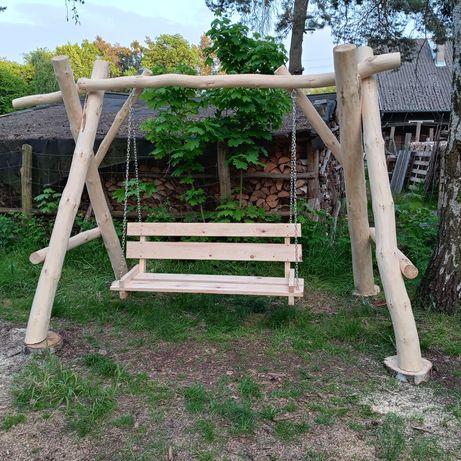 Huśtawka ogrodowa/ zestawy mebli