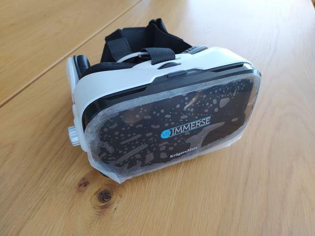 Gogle VR Kruger&Matz ze słuchawkami