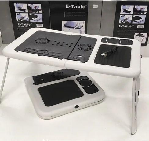 Раскладывающийся столик для ноутбука с вентилятором E-Table LD-09
