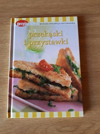 Sprzedam książkę z przepisami kucharskimi na przystawki i przekąski