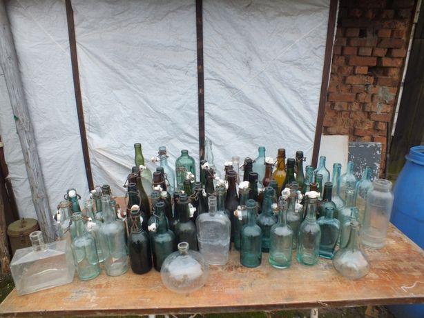 zabytkowe butelki