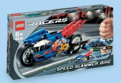 LEGO Racers 8646: Speed Slammer Bike