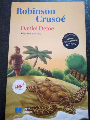 Livro Robison Crusoé